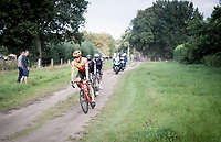 Rasmus Tiller (NOR/Uno-X)<br /> <br /> Antwerp Port Epic / Sels Trophy 2021 (BEL)<br /> One day race from Antwerp to Antwerp (183km)<br /> <br /> The APC stands qualified as a 'road race', but with 36km of gravel and 28km of cobbled sections in and around the Port of Antwerp (BEL) this race occupies a unique spot in the Belgian race scene.<br /> <br /> ©kramon