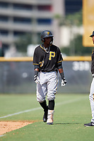 Pittsburgh Pirates Norkis Marcos (72) during a Florida Instructional League game against the New York Yankees on September 25, 2018 at Yankee Complex in Tampa, Florida.  (Mike Janes/Four Seam Images)