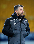 St Johnstone v Motherwell…..12.02.20   McDiarmid Park   SPFL<br />Motherwell manager Stephen Robinson shouts at his players<br />Picture by Graeme Hart.<br />Copyright Perthshire Picture Agency<br />Tel: 01738 623350  Mobile: 07990 594431