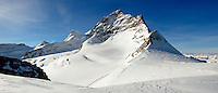Jungfrau mountain Peak from Top Of Europe - Swiss Alps - Switzerland