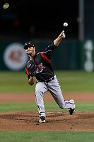 Lake Elsinore Storm starting pitcher Tom Cosgrove (10) during a California League game against the Lancaster JetHawks on April 10, 2019 at The Hanger in Lancaster, California. Lancaster defeated Lake Elsinore 8-5 in the second game of a doubleheader. (Zachary Lucy/Four Seam Images)