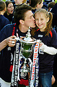 07/05/2005         Copyright Pic : James Stewart.File Name : jspa08_falkirk_v_qots.KEVIN JAMES CELEBRATES WITH HIS DAUGHTER JAMIE LEE.Payments to :.James Stewart Photo Agency 19 Carronlea Drive, Falkirk. FK2 8DN      Vat Reg No. 607 6932 25.Office     : +44 (0)1324 570906     .Mobile   : +44 (0)7721 416997.Fax         : +44 (0)1324 570906.E-mail  :  jim@jspa.co.uk.If you require further information then contact Jim Stewart on any of the numbers above.........A