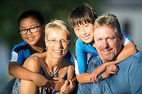 Tim and Nancy Severeid Family photos