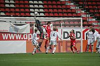 Torwart Thomas Kraft (FC Bayern M¸nchen) h‰lt den Schuss vor Stefan Ries (FSV Mainz 05)