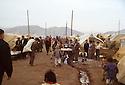 Turkey 1991.Iraqi Kurds in a camp near Mardin