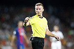 Spanish referee Alejandro Jose Hernandez Hernandez during Supercup of Spain 2nd match.August 17,2016. (ALTERPHOTOS/Acero)