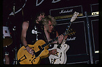 Jamie Stewart, Billy Duffy of The Cult May 1987