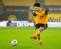 8th January 2021; Molineux Stadium, Wolverhampton, West Midlands, England; English FA Cup Football, Wolverhampton Wanderers versus Crystal Palace; Rayan Ait Nouri of Wolverhampton Wanderers passes the ball forward