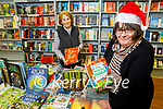 Brenda Woulfe (front right) and Mary Sobieralski in Woulfe's Bookshop in Listowel.
