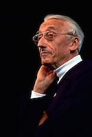 Jacques Cousteau (Jacques-Yves Cousteau), Famous Oceanographer, Portrait