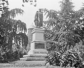 0613-B026.  Daniel Webster statue, Scott Circle, Massachusetts Ave. & 16th NW. Washington, DC, 1922