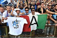 Terni 13-05-2017 Football Calcio Serie B Ternana - Spal foto Antonello Sammarco/Image Sport/Insidefoto<br /> nella foto: tifosi Spal Esultanza Promozione in Serie A