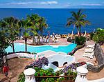 Spanien, Kanarische Inseln, Teneriffa, Playa de las Americas: Las Rocas Beach Club | Spain, Canary Islands, Tenerife, Playa de las Americas: Las Rocas Beach Club