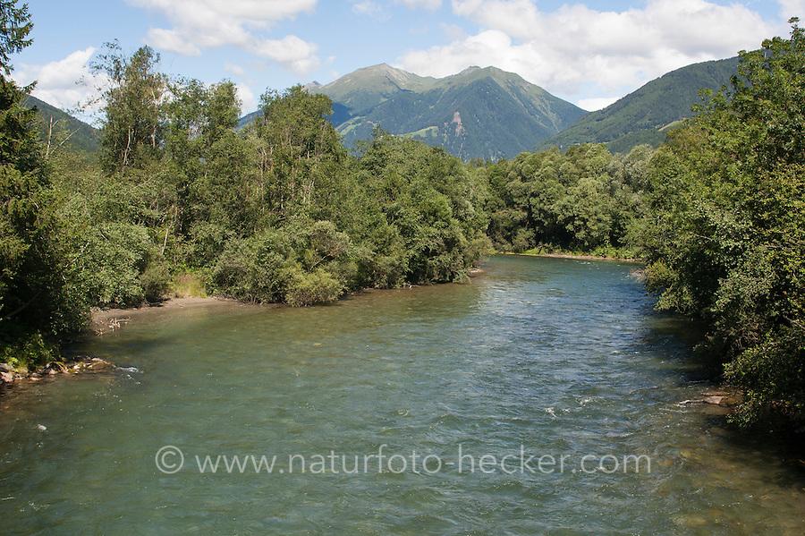 Bach, Gebirgsbach, Fluß, Fluss, Wasser in den Alpen, Österreich, Kärnten, Mölltal, Möll. Stream, rivulet in the mountains, alps, Austria, Carinthia