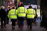 © Joel Goodman - 07973 332324 . 19/12/2014 .  Manchester , UK . Manchester Street Angels patrolling in Manchester City Centre this afternoon (Friday 19th December 2014) ahead of Mad Friday night . Street angels are volunteers who patrol and help out vulnerable and distressed revellers . Police say a hundred police will be patrolling in Manchester City Centre this evening (Friday 19th December) after previous reports have said as few as four have been available some nights . Photo credit : Joel Goodman/LNP