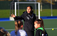 Tyler Lench. Vantage Black Sticks hockey community session prior to the upcoming Sentinel Homes Trans-Tasman Series at Twin Turfs in Palmerston North, New Zealand on Tuesday, 25 May 2021. Photo: Dave Lintott / lintottphoto.co.nz