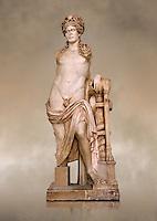 Second Century Roman statue of Apollo excavated from the Theatre of Carthage. The Bardo National Museum, Tunis, Tunisia. Inv No C939