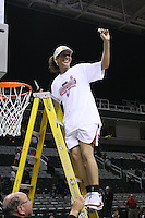 10 March 2008: Stanford Cardinal Rosalyn Gold-Onwude during Stanford's 56-35 win against the California Golden Bears in the 2008 State Farm Pac-10 Women's Basketball championship game at HP Pavilion in San Jose, CA.