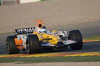 F1 Tests Valencia - Circuito Ricardo Tormo - Cheste - 21/1/2008