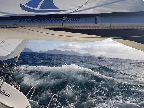 Approaching St Kilda