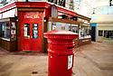 Oxford Indoor Market Red post box    CREDIT Geraint Lewis