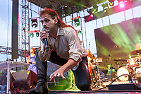 Gab Paquet at the Festival d'ete de Quebec (FEQ) in Quebec city Wednesday July 12, 2017.