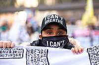 Protestors demonstrate downtown on Day One of the Derek Chauvin Trial on March 29, 2021 in Minneapolis, Minnesota, USA.  <br /> CAP/MPI/IS/CT<br /> ©CT/IS/MPI/Capital Pictures