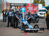 Antron Brown, Matco Tools, top fuel, crew