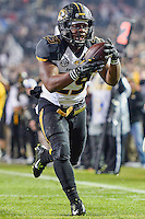 Missouri tackle Ish Witter (29) enters the end zone for a touchdown during an NCAA football game, Saturday, November 15, 2014 in College Station, Tex. Missouri defeated Texas A&M 34-27. (Mo Khursheed/TFV Media via AP Images)