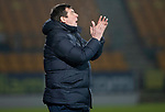 St Johnstone v Hamilton Accies…19.01.19…   McDiarmid Park    Scottish Cup 4th Round<br />Saints boss Tommy Wright applauds his players<br />Picture by Graeme Hart. <br />Copyright Perthshire Picture Agency<br />Tel: 01738 623350  Mobile: 07990 594431