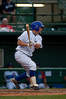 April 10th 2010: Ryne White of the Daytona Cubs in the game against the Brevard County Manatees at Jackie Robinson Ballpark in Daytona Beach, FL (Photo By Scott Jontes/Four Seam Images)