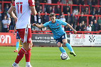 Archie Collins of Exeter City during Stevenage vs Exeter City, Sky Bet EFL League 2 Football at the Lamex Stadium on 9th October 2021