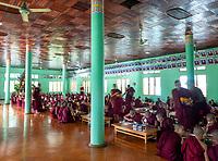 A Monastery in Sagaing, Mandalay, Myanmar