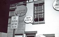 """Robert Venturi: """"Signs of Life"""" show. Renwick Gallery, Summer, 1976."""