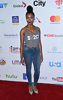 Sonequa Martin-Green @ the Stand Up To Cancer 2016 held @ the Walt Disney Concert Hall. September 9, 2016