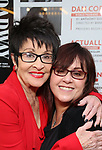 Chita Rivera and Lisa Mordente attends the Broadway Opening Night performance of 'The Prince of Broadway' at the Samuel J. Friedman Theatre on August 24, 2017 in New York City.