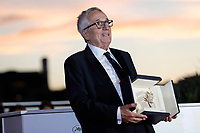 CANNES, FRANCE - JULY 17: Marco Bellocchio poses with the 'Honorary Award' during the 74th annual Cannes Film Festival on July 17, 2021 in Cannes, France.<br /> CAP/GOL<br /> ©GOL/Capital Pictures