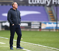 1st May 2021; Liberty Stadium, Swansea, Glamorgan, Wales; English Football League Championship Football, Swansea City versus Derby County; Steve Cooper, Manager of Swansea City