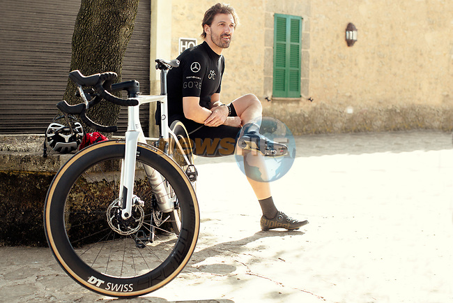 Swiss Racing Academy (SRA) announces Fabian Cancellara as team mentor, powered by IWC Schaffhausen, supported by BMC Switzerland and SRAM. Switzerland. 12th July 2020.<br /> Picture: SRA/Ronan Merot | Cyclefile<br /> <br /> All photos usage must carry mandatory copyright credit (© Cyclefile | SRA/Ronan Merot)
