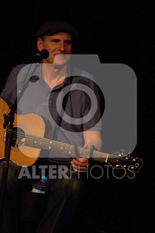 """07.05.2012. Concert of the legendary singer-songwriter James Taylor in the room """"La Riviera"""" in Madrid. . In the picture: James Taylor (Alterphotos/Marta Gonzalez)"""