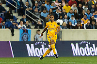 HARRISON, NJ - MARCH 11: Rafael de Souza #5 of Tigres UANL during a game between Tigres UANL and NYCFC at Red Bull Arena on March 11, 2020 in Harrison, New Jersey.