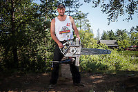 2012 Lumberjack World Championships in Hayward, Wisconsin