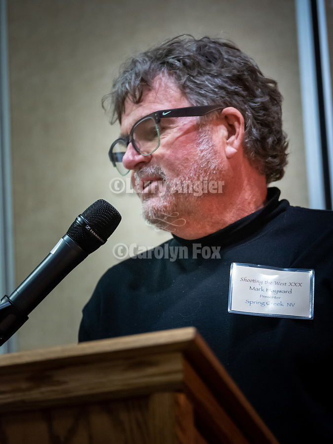 Speakers at Shooting the West XXX, Mark Hayward<br /> <br /> <br /> #ShootingTheWest XXX, #WinnemuccaNevada,