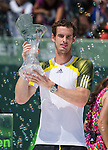 Andy Murray (GBR) Takes Sony Title Against David Ferrer (ESP) 2-6, 6-4, 7-6(1)