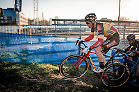 Belgian National Champion Laurens Sweeck (BEL/Pauwels Sauzen-Bingoal)<br /> <br /> 2020 Urban Cross Kortrijk (BEL)<br /> men's race<br /> <br /> ©kramon