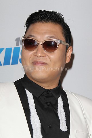 LOS ANGELES, CA - DECEMBER 03: PSY at day 2 of KIIS FM's 2012 Jingle Ball at Nokia Theatre L.A. Live on December 3, 2012 in Los Angeles, California. Credit: mpi21/MediaPunch inc.