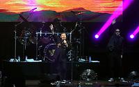 Ali Campbell of UB40 on stage<br /> UB40 concert at Parc Y Scarlets, Llanelli, Wales, UK. Saturday 10 June 2017