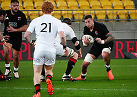 Scott Scrafton in action during the rugby match between North and South at Sky Stadium in Wellington, New Zealand on Saturday, 5 September 2020. Photo: Dave Lintott / lintottphoto.co.nz