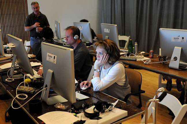 2010 NPPA Multimedia Immersion, Syracuse, New York. (photo by Pico van Houtryve)