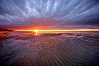 """Seiche"" - Lake Superior sunset"